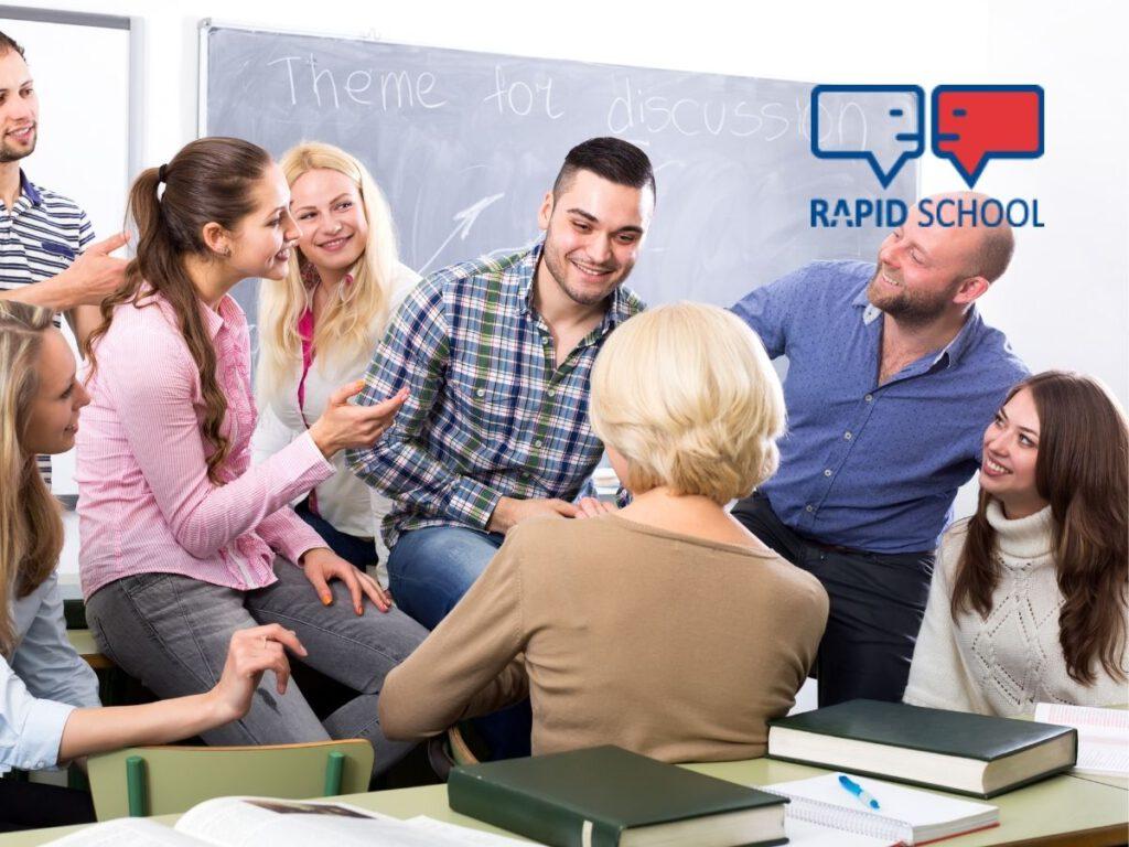 Kursy językowe dla dorosłych w Rapid School