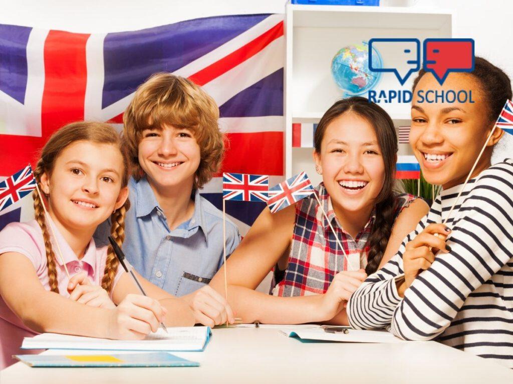 kursy językowe dla dzieci